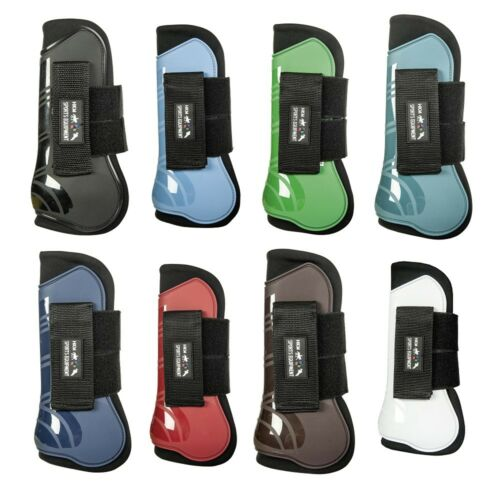 HKM Set Of 4 Tendon And Fetlock Boots Genua ALL COLOURS /& SIZES