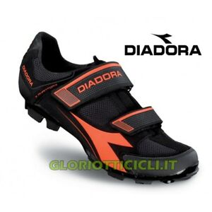 Diadora Scarpe MTB X-phantom II Nero-giallo Fluo 41 16459a86b1f