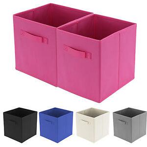 pliable cube bo te de rangement stockage organisateur pour livre jouet v tement ebay. Black Bedroom Furniture Sets. Home Design Ideas