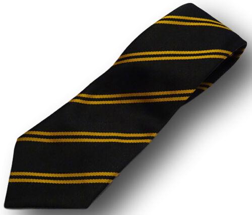 Many Colour Choices School Uniform Ties Adult Length Double Narrow Stripes