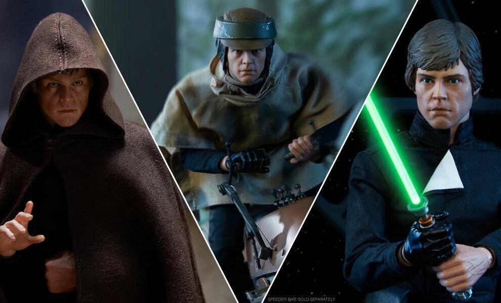 La guerra de las galaxias  episodio 6  rojoj  Luke Skywalker  Deluxe  6  sidesh  missb