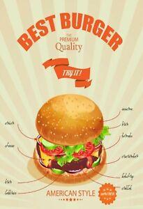 Best-Burger-American-Style-Panneau-Metallique-Plaque-Voute-en-Etain-20-X-30-CM