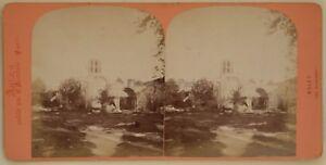 Arles-Los-Alyscamps-Foto-Neurdein-Paris-Estereo-Vintage-Albumina