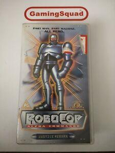 Robocop-Alpha-Commando-VHS-Video-Retro-Supplied-by-Gaming-Squad