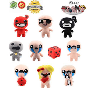 10Model The Binding Of Isaac With Cat Steven Rebirth afterbirth Steam Plush Doll