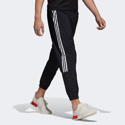 ADIDAS MEN BLACK WHITE NMD CUFFED NYLON JOGGERS TRACK PANTS | eBay
