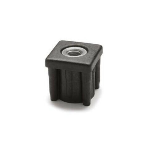 für Rohr mit Innenmaßen 40x36mm ELESA-Einsteckbuchse für Vierkantrohre