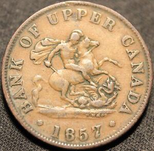 330-1857-UPPER-CANADA-DRAGONSLAYER-HALFPENNY-TOKEN-Breton-720