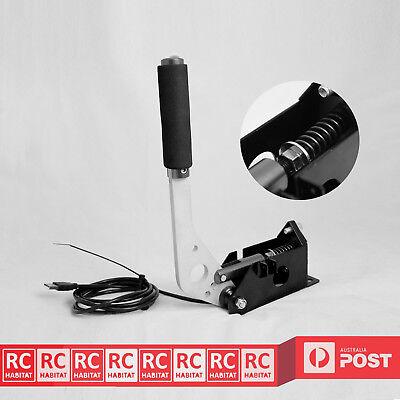 Vaorwne Universal Handbrake For Pc Sim Racing Sim Racing Game Plug And Play Sim Rig-Black