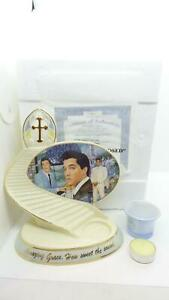 Bradford-Exchange-2011-Elvis-Presley-Gospel-Tribute-Candle-Holder-A0850-COA