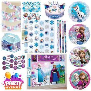Frozen-Party-Vaisselle-Decorations-Ballons-Faveurs