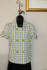 2 Usa Size 1490 S Cotton Mina Sisters In Top 3 Jacket Nwt Sleeve Tie Made 4 Fqn6wgXH
