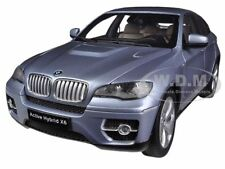 BMW X6 ACTIVE HYBRID BLUE WATER METALLIC 1/18 DIECAST MODEL CAR BY KYOSHO 08763