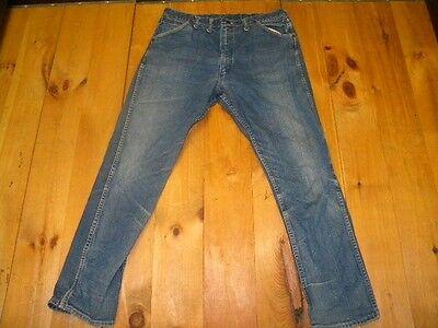 Brioso 1970's Uomo Wrangler Jeans Vintage Sz 40x32 Made In Usa Usato