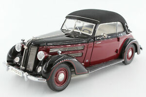 A-s-s-cmc-audi-920-cabriolet-1938-1940-1-24-OVP-negro-rojo-m-032a-Limited-editi