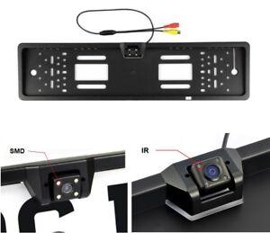PORTATARGA-CON-TELECAMERA-RETROMARCIA-AUTO-RETROCAMERA-4-LED-170-VISIONE-NOTTE