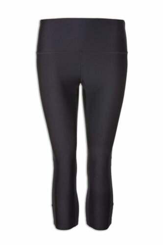Camille Ex Marks /& Spencers Femme Sportswear Noir Capri Lycra Sport Leggings
