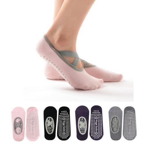 Soft Non-slip Yoga Socks Pilates Dance Socks With Colored Cotton And Comfort PF