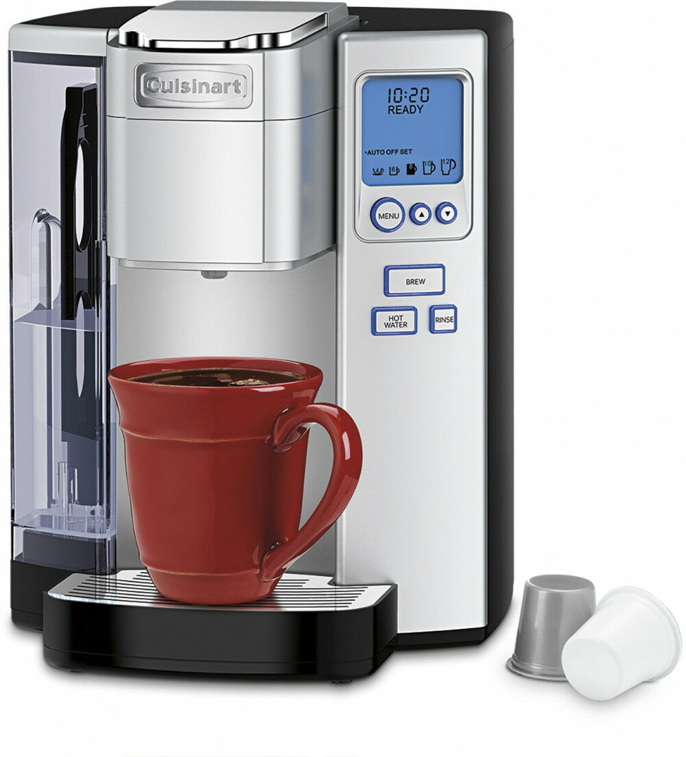 Cafetière en Acier Inoxydable Simple Servir Brewer Premium K-Cup Compatible