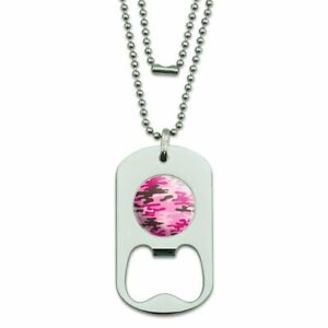 Pink-Camouflage-Military-Dog-Tag-Bottle-Opener-Pendant