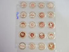 OUTRIGGER HOTELS HAWAII POGS/MILKCAPS  SET OF  (20) SHEETED AWESOME