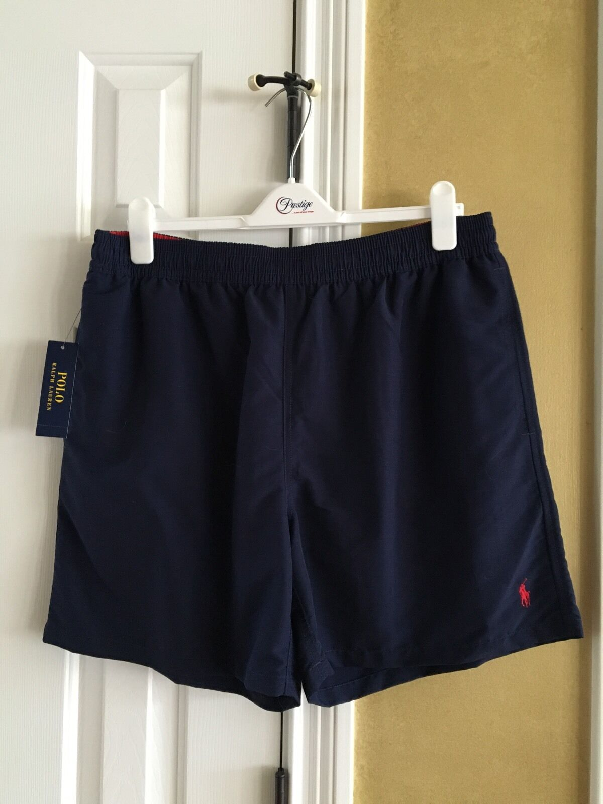 NWT Polo Ralph Lauren Swim Navy bluee Trunks Swimming Shorts XXL
