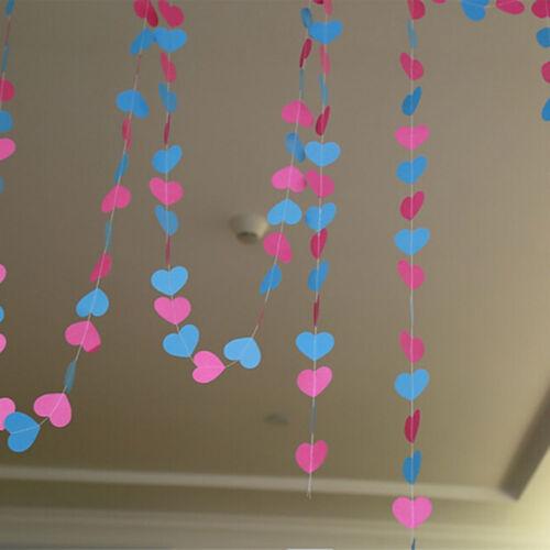 1X Bunting Banner Hanging Flag Wedding Birthday Party Baby Shower Garland Decor