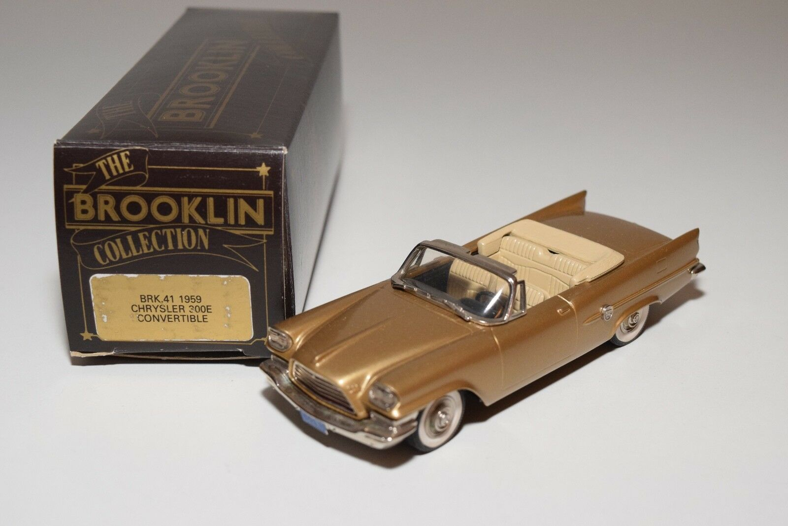 BROOKLIN BRK 41 1959 CHRYSLER 300E 300 E CONVERTIBLE TOP DOWN MINT BOXED