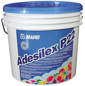 Colla adesivo in pasta per piastrelle ceramiche mattoni adesilex p22 mapei kg 5 ebay - Colla per piastrelle mapei ...