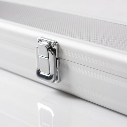 Queuetasche Queue Tasche Billard Aluminium silber Queue-Koffer Standardqueue