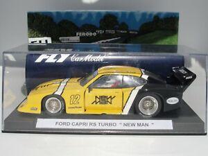 Volez Ford Capri Rs Turbo 'nouveau Ma' # 1 Jaune Fente 1:32 Nouveau Vieux Stock en Boîte