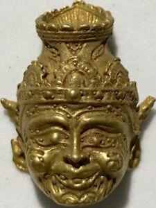 SEAN POR KHAE PHRA LP RARE OLD THAI BUDDHA AMULET PENDANT MAGIC ANCIENT IDOL#14