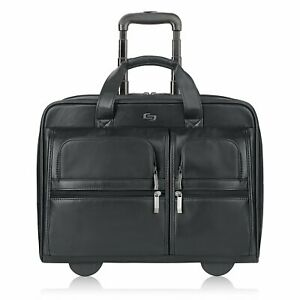 Details About Solo 15 4 Rolling Laptop Case Computer Bag On Wheels In Black