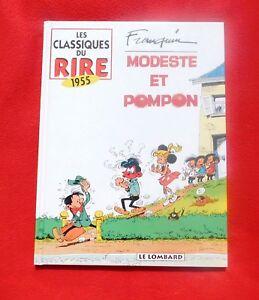 FRANQUIN-Modeste-et-Pompon-integrale-Le-Lombard-1996-EO-Classiques-du-rire