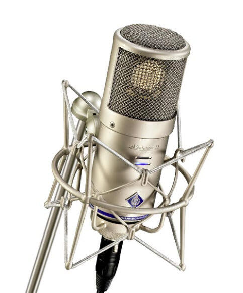 New Shock Mount - Microphone Holder - Mic Clip For Neumann D-01 Premium Quality