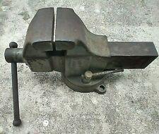 Vintage Columbian 604 4 Jaw Swivel Base Machinist Toolmakers Bench Vise