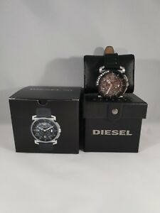 Diesel-On-Herren-Hybrid-Smartwatch-Armbanduhr-Lederarmband-5ATM-47mm-iOS-And-OVP