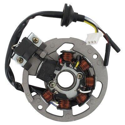 Ankerplatte Lichtmaschine Generator Stator D 79mm 7 Spulen Pick up 1E40QMB RGT