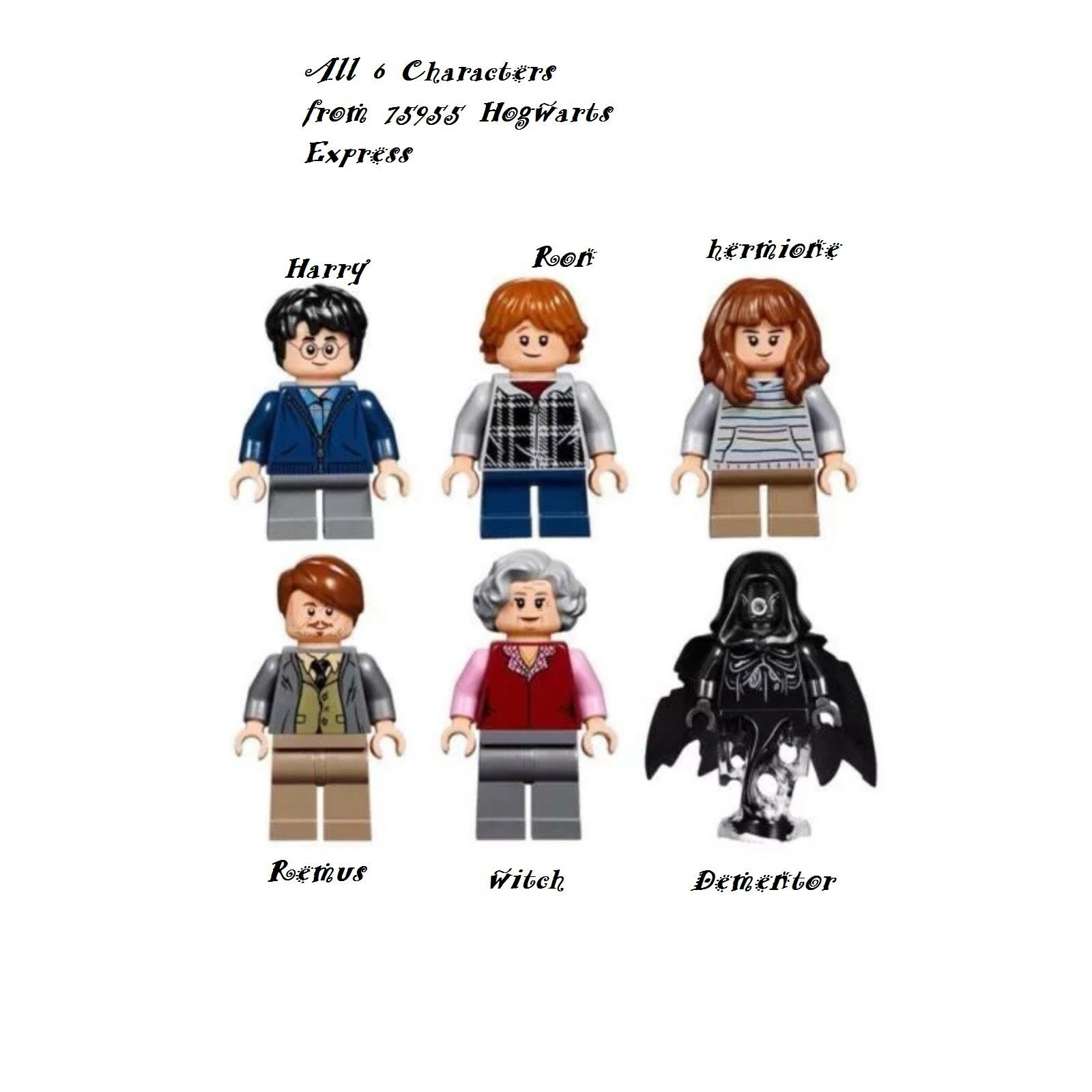 Lego harry potter Hogwarts Express as photo 6 Minifigures from 75955