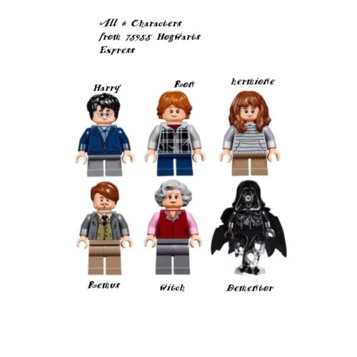 Lego harry potter Hogwarts Express as photo 6 Character Minifigures from 75955