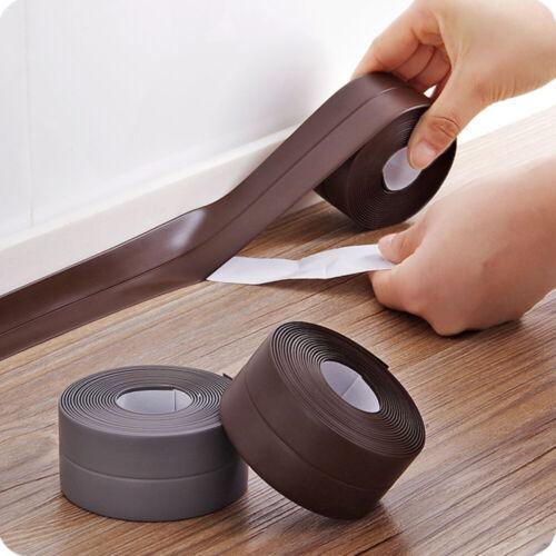 Self Adhesive Waterproof Sink Caulk Strip Sealing Tape Kitchen Bathroom Toilet