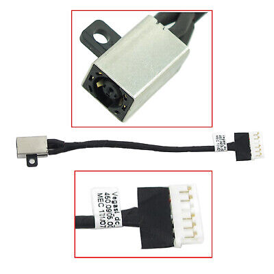 1x  DC power jack cable for Dell Inspiron 15 3567 FWGMM 450.09W05.0011 NEW