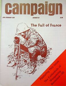 """Vintage """"Campaign"""" #83 Magazine 1978 The Fall Of France"""