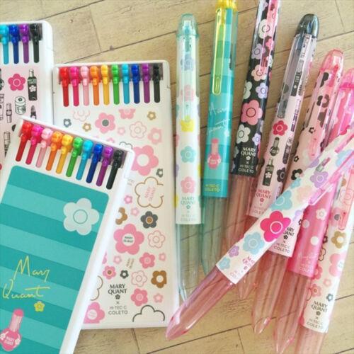 2016 New MARY QUANT Coleto 10 Refill Daisy Limited Edition Hi Tec C Pilot Pen