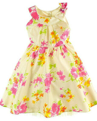 Jona Michelle Girls' Satin /& Tulle Floral Party Dress-WHITE-2T-NWT