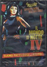 Dvd Video **IL MONDO DI NOTTE IV ~ SIAMO FATTI COSÍ... AIUTO** di G. Proia 1980