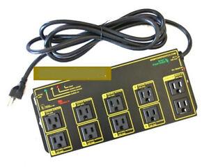 DLI-8P5-8-Ports-Remote-Power-Manage-Switch-Web-IP-Reboot-Power-Distribution-Unit