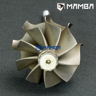 GT2860R 47//53.9 113mm  ball bearing turbine shaft //turbine wheel