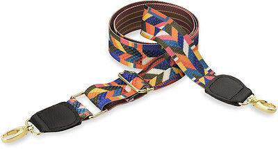 Hit der Saison Trageriemen Gurtband für Handtasche Boho - Style farbig - gold