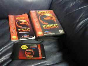 Mortal Kombat Sega Genesis Game